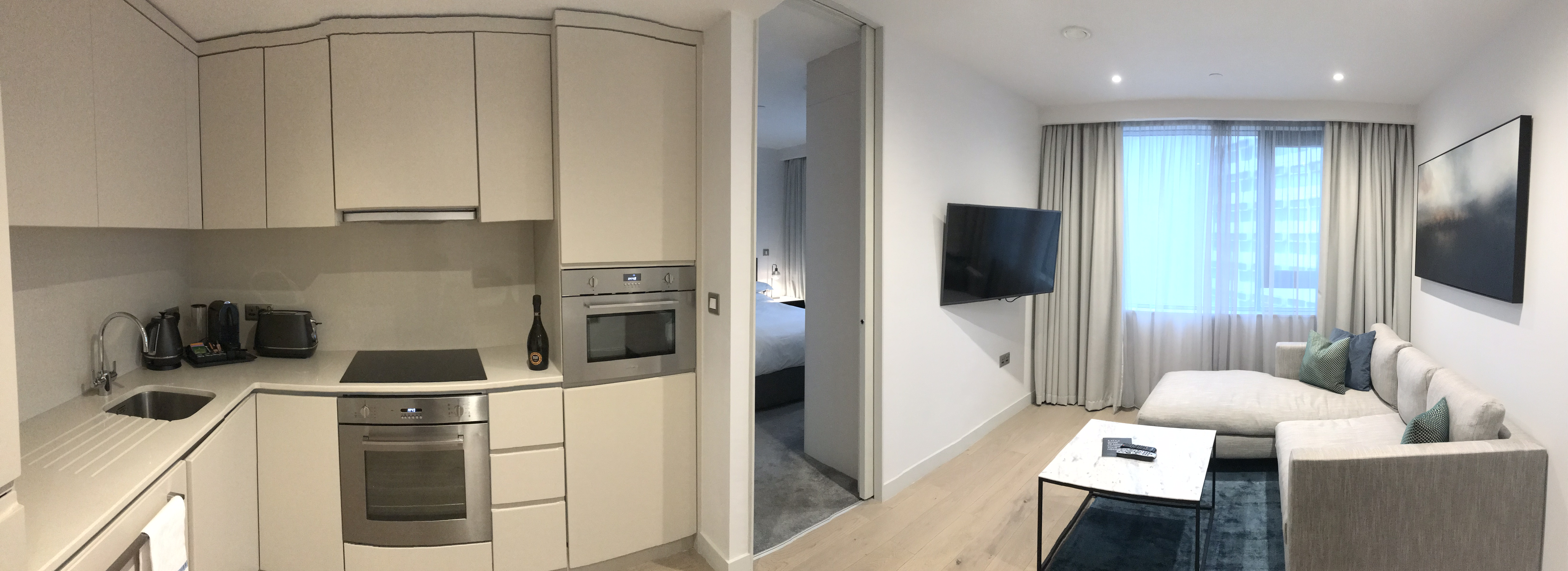 Panoramic Image Of One Bedroom Apartment (1)