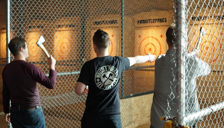Manchester's Axe Throwing