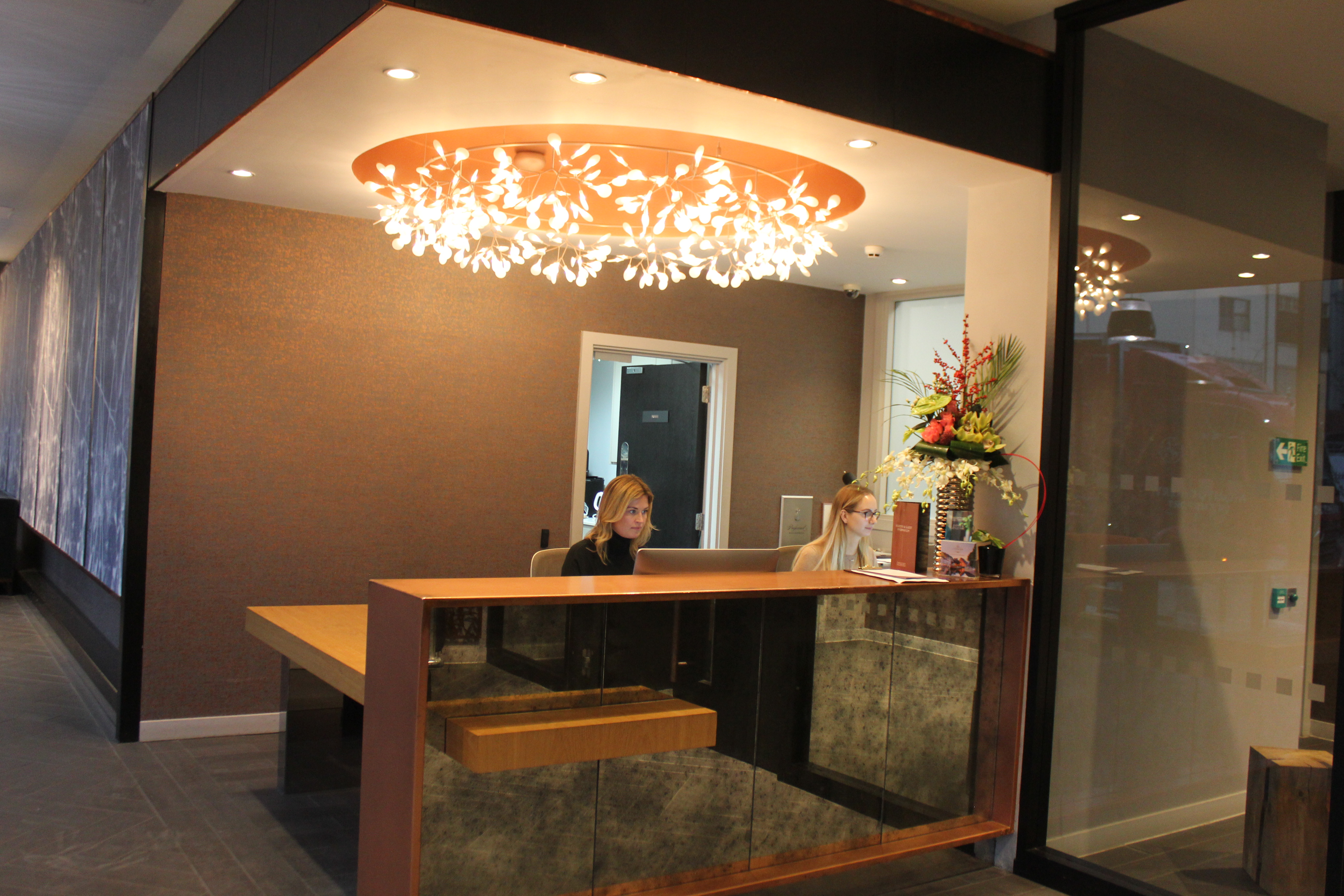 Reception Desk In The Evening (1)