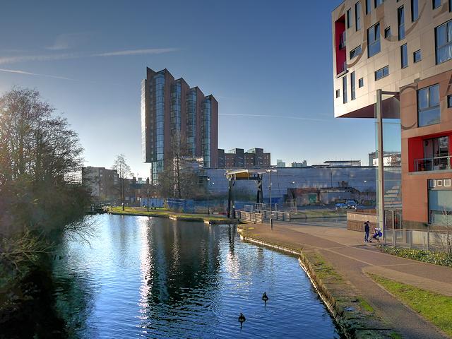 Ancoats Locks Manchester