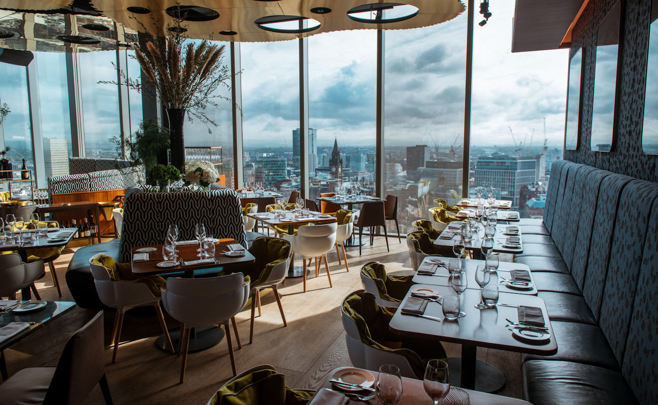 20 Stories Skyline Restaurant Manchester