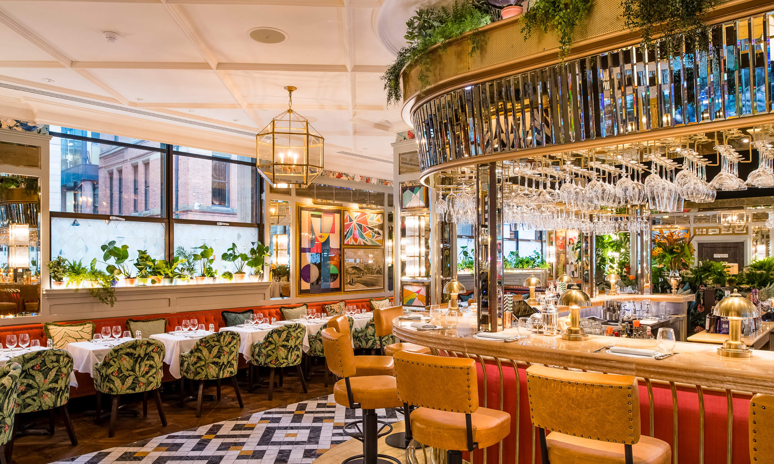 The Ivy Spinningfields Brasserie Interior